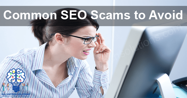 Common SEO Scams to Avoid