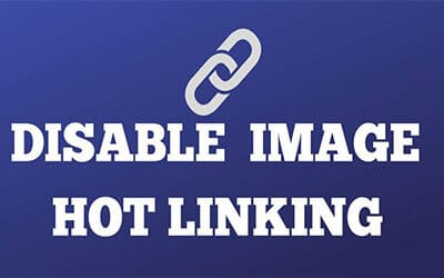 Disable Hotlinking